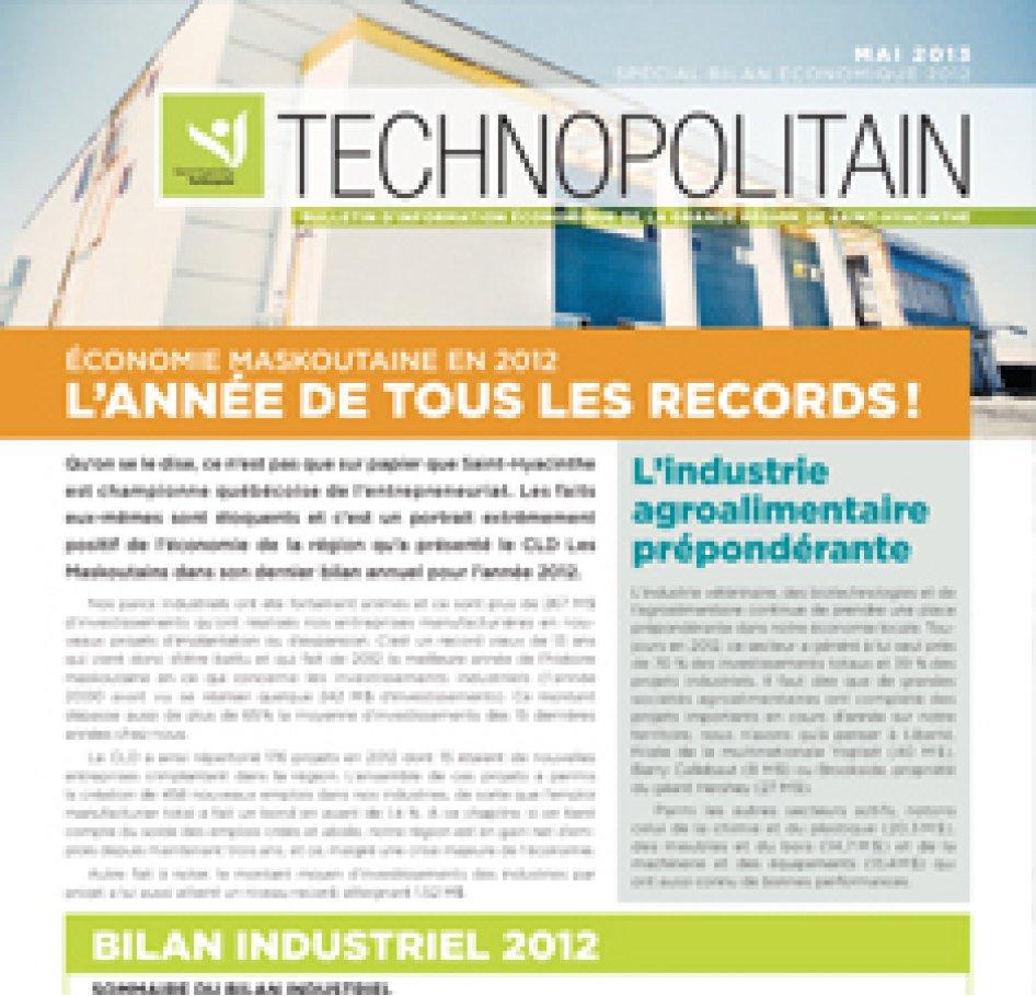 Le Technopolitain – Mai 2013