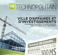 Le Technopolitain - Décembre 2012