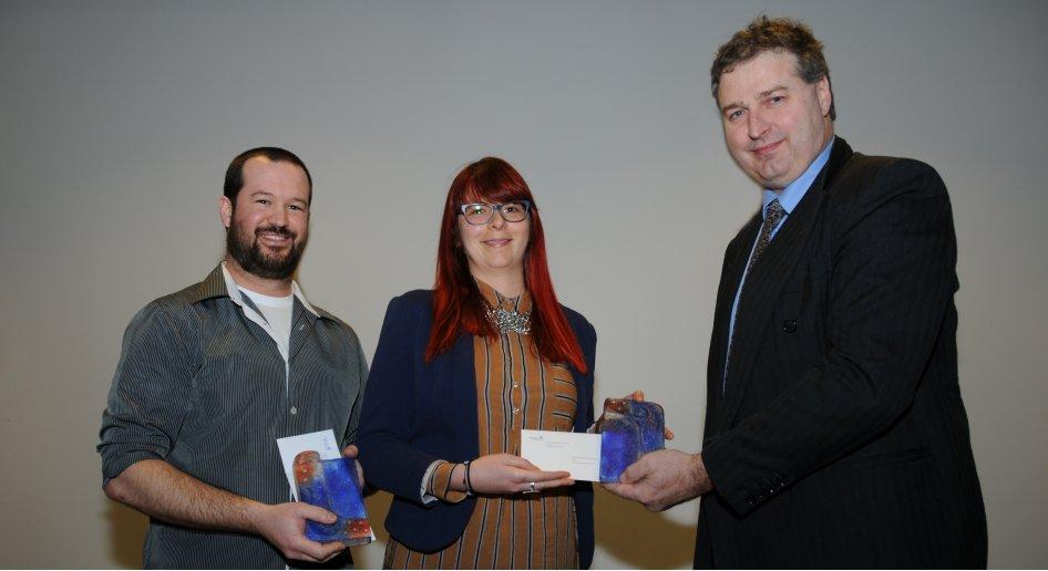 Le Prix de la Technopole remis à deux étudiants de la Faculté de médecine vétérinaire