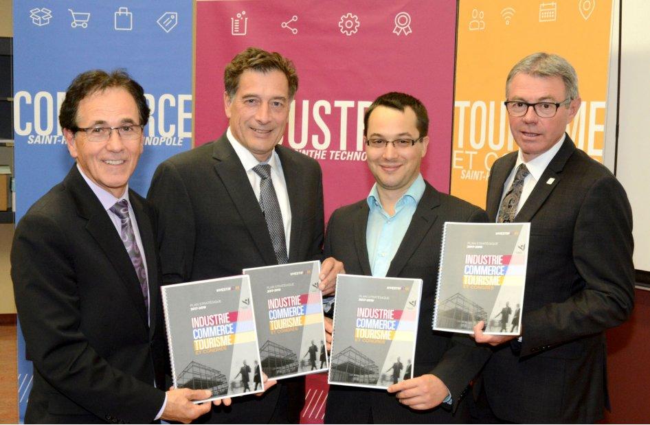 Saint-Hyacinthe Technopole lance son Plan stratégique 2017-2019