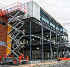 La nouvelle usine de Brasseurs du Monde en chantier - Investissement de plus de 2 M$