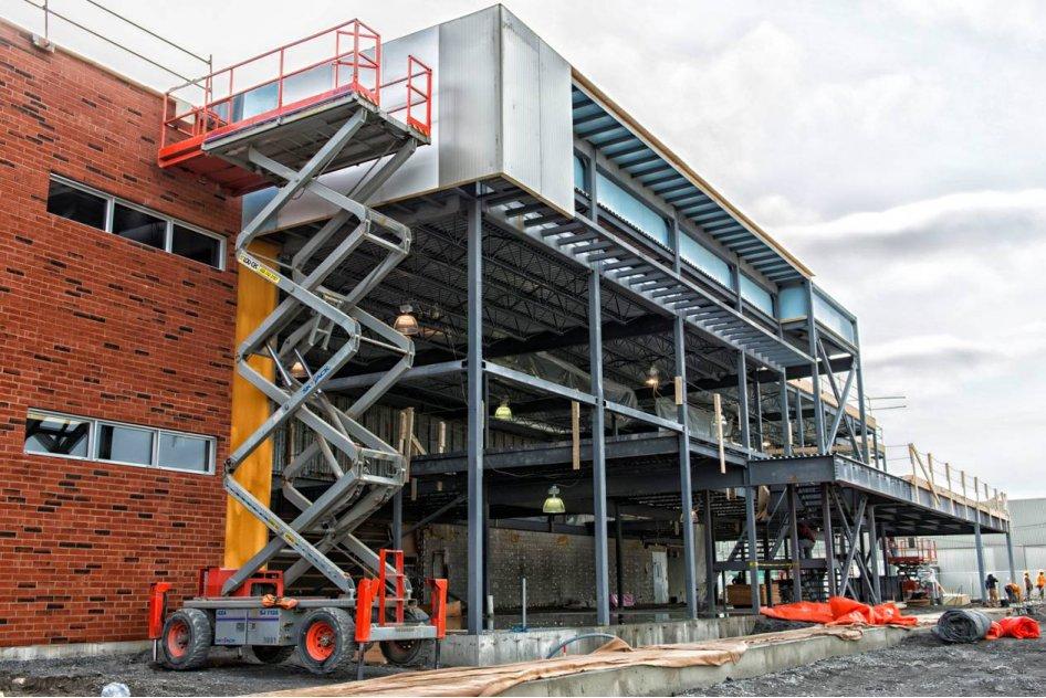 La nouvelle usine de Brasseurs du Monde en chantier – Investissement de plus de 2 M$
