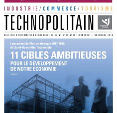 Le Technopolitain - Novembre 2016
