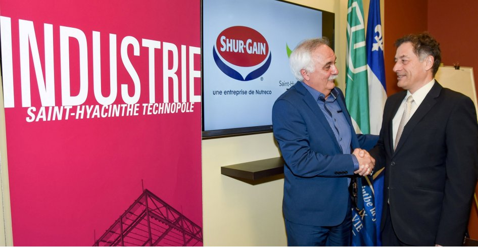 Saint-Hyacinthe now Shur-Gain headquarters for Eastern Canada