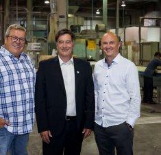 L'entreprise Produits Forestiers Ampro confirme plus de 2 M$ d'investissements à son usine de Saint-Hyacinthe