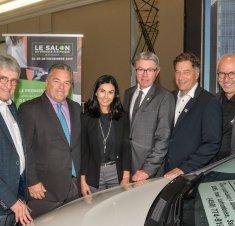 Saint-Hyacinthe Technopole souligne l'annonce de la tenue du tout premier salon du véhicule électrique de Saint-Hyacinthe
