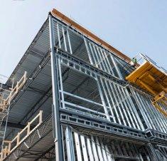 Place Sainte-Anne : Un nouvel édifice commercial en construction à Saint-Hyacinthe