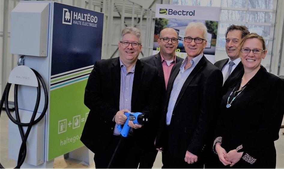 Bectrol complète un investissement de 1,5 M$ pour supporter la demande pour ses bornes de recharge