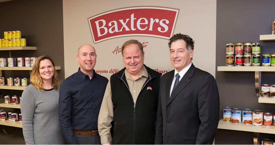 Baxters Canada devient le plus important manufacturier canadien de soupes
