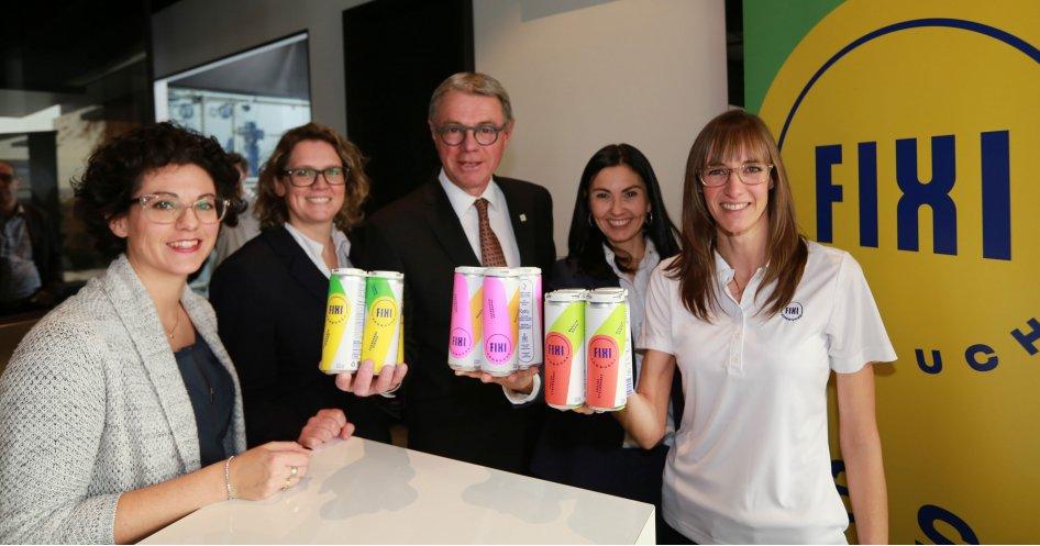 Nouvelle entreprise à Saint-Hyacinthe : Fixi Kombucha inaugure ses installations