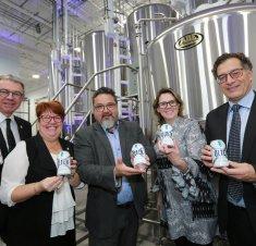 Investissement de 2 M$ : Brasserie Olten inaugure ses installations à Saint-Hyacinthe