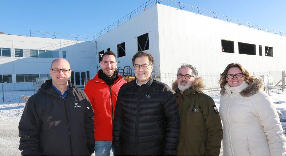 Norbec annonce un investissement de 3,5 M$  pour l'agrandissement de son usine de Saint-Hyacinthe