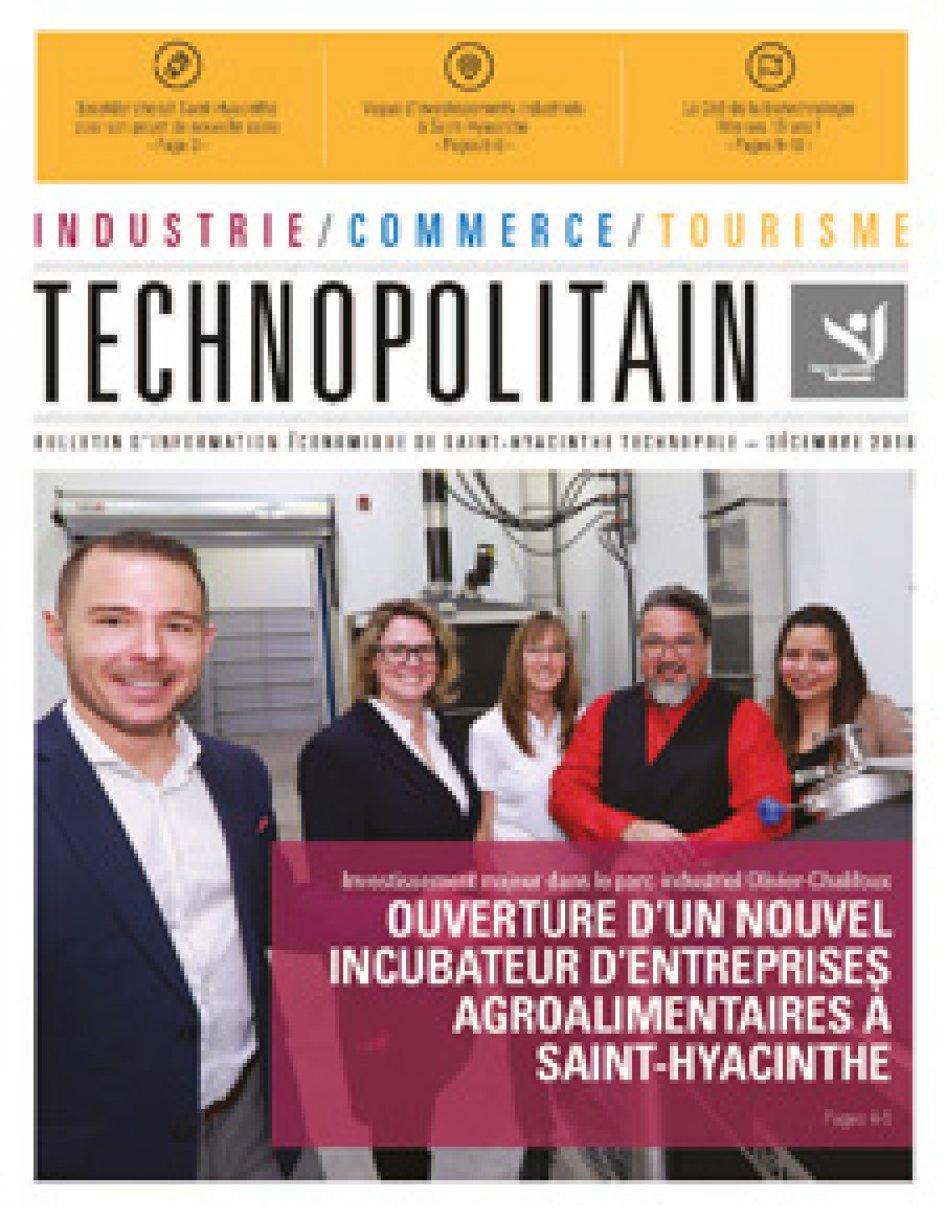 Le Technopolitain – Décembre 2018