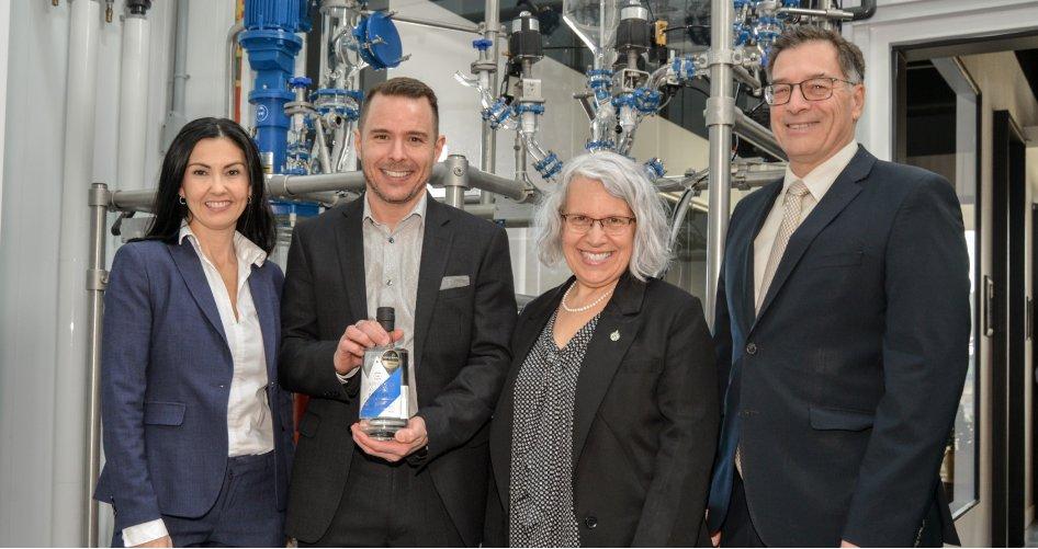Distillerie NOROI : une nouvelle entreprise inaugurée à Saint-Hyacinthe