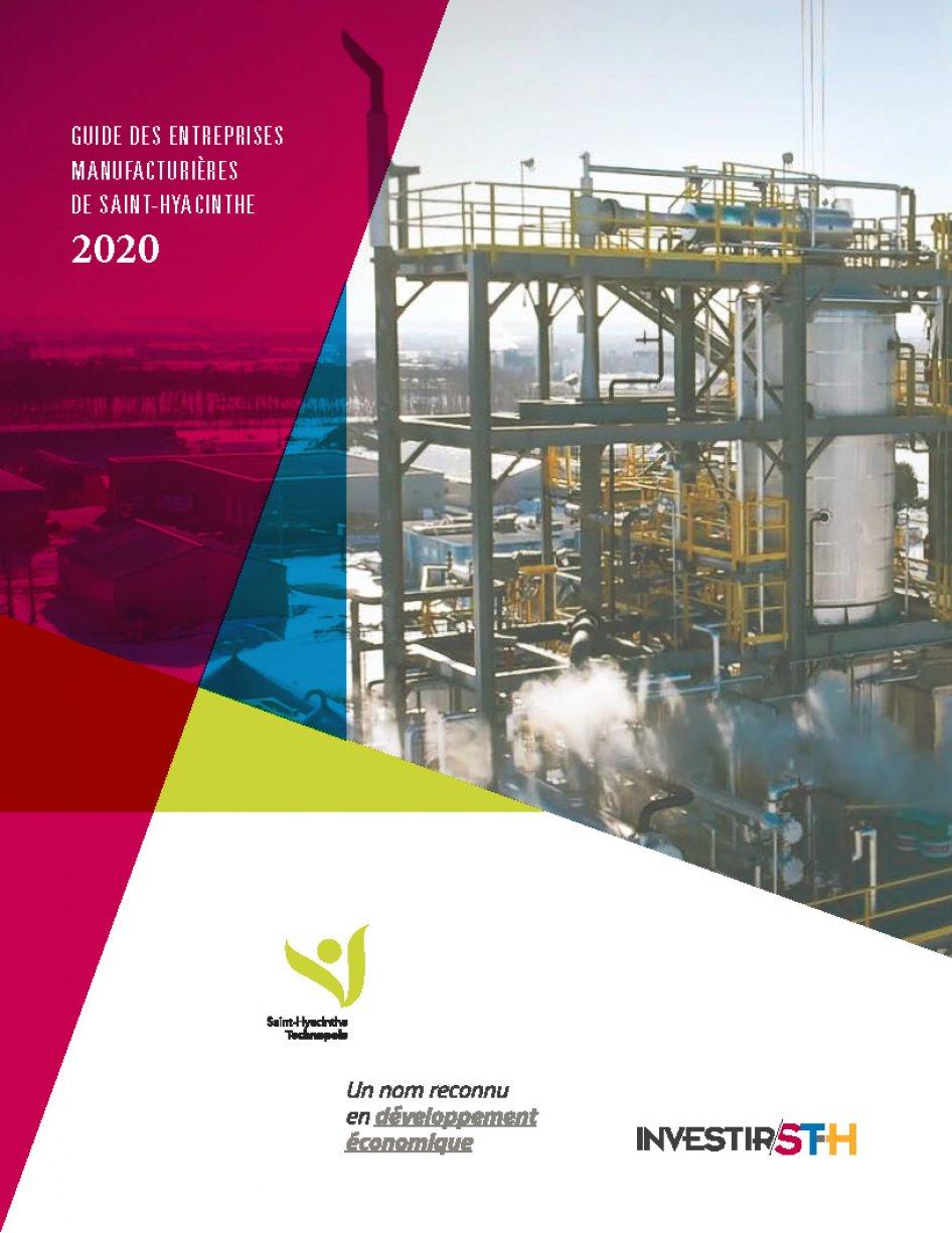 Guide des entreprises manufacturières de Saint-Hyacinthe 2020