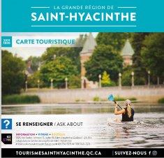 Carte touristique 2019-2020 - La grande région de Saint-Hyacinthe