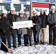 Investissement de 1,75 M$ pour l'agrandissement des installations de l'entreprise Bleu.eco à Saint-Hyacinthe