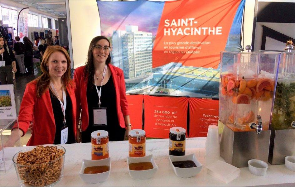 Saint-Hyacinthe Technopole et le Centre de congrès de Saint-Hyacinthe présents à l'événement Expérience