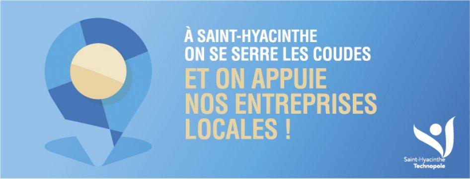 Saint-Hyacinthe Technopole invite les Maskoutains à soutenir les entreprises locales