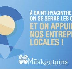 Pour des façons simples et sécuritaires de soutenir nos entreprises locales !