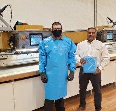 ElCargo : Une blouse de protection médicale réutilisable développée à Saint-Hyacinthe