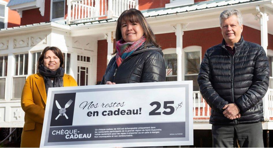 Saint-Hyacinthe Technopole et la Chambre de Commerce lancent le mouvement « Nos restos en cadeau ! »