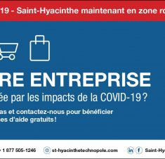 Saint-Hyacinthe en zone rouge : Mesures en vigueur pour les entreprises