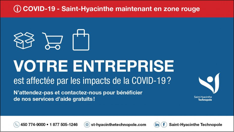 Saint Hyacinthe En Zone Rouge Mesures En Vigueur Pour Les Entreprises Saint Hyacinthe Technopole