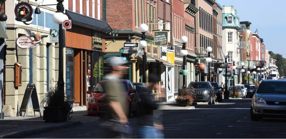 Le rapport de l'enquête d'opinion sur la piétonnisation de la rue des Cascades rendu public