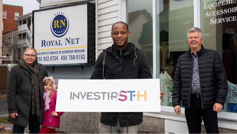 L'entreprise Royal Net s'installe au centre-ville de Saint-Hyacinthe