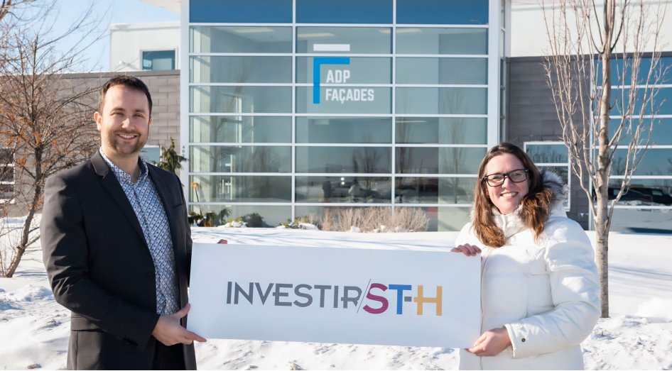 $2.6M investment : ADP Façades is starting up its operations and beginning to recruit for its new plant in Saint-Hyacinthe