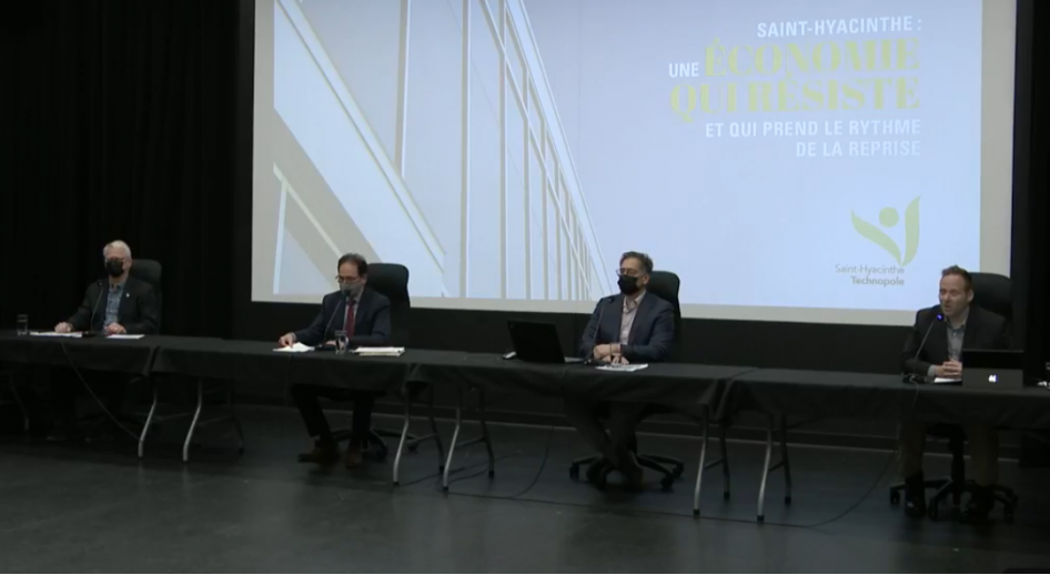 2020 Annual Economic Report – Saint-Hyacinthe's economy weathers the crisis and begins its recovery