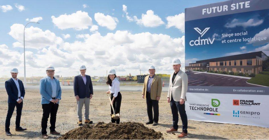 Début des travaux des nouvelles installations de CDMV dans la Cité de la biotechnologie