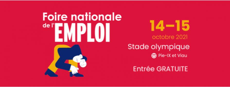 Saint-Hyacinthe Technopole présente à la Foire nationale de l'emploi au Stade olympique