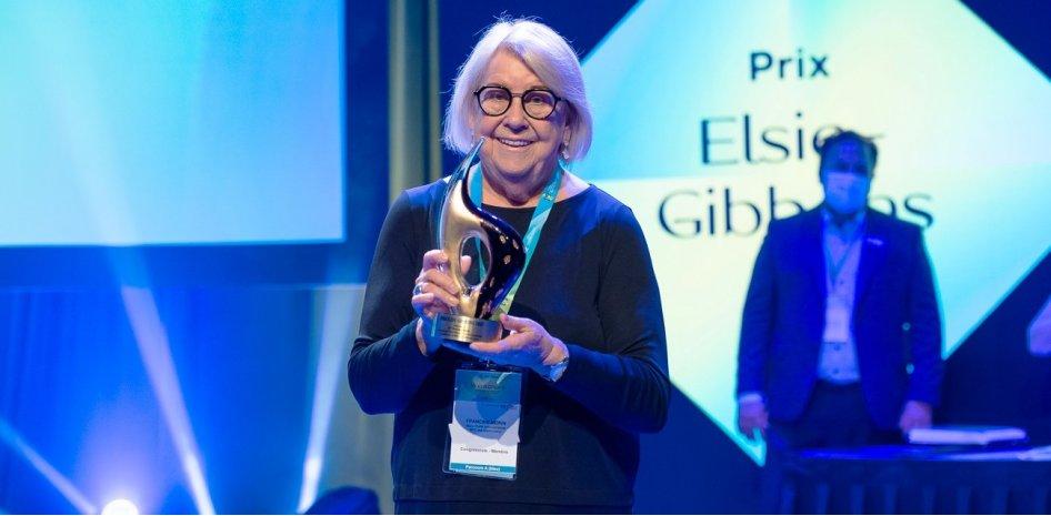 Francine Morin choisie lauréate du Prix Elsie-Gibbons de la Fédération québécoise des municipalités