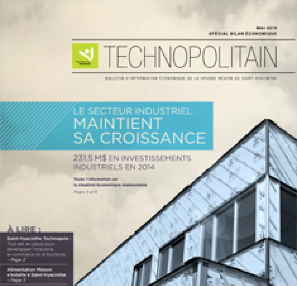 Le Technopolitain – Mai 2015