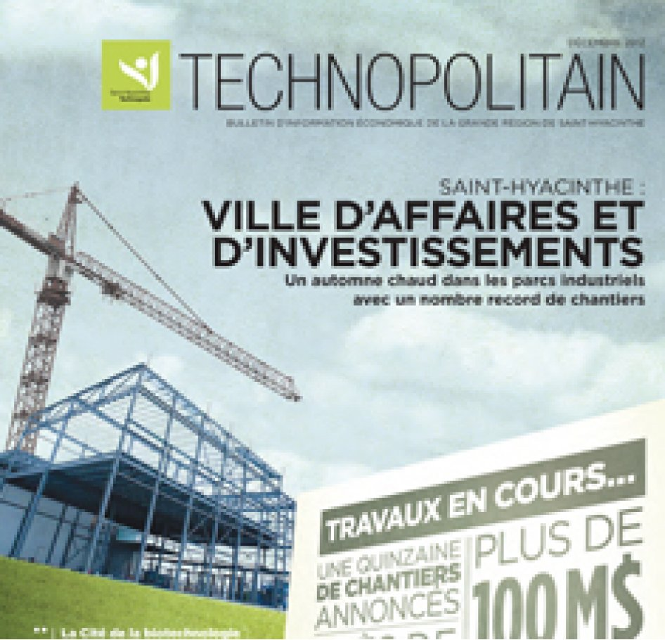 Le Technopolitain – Décembre 2012