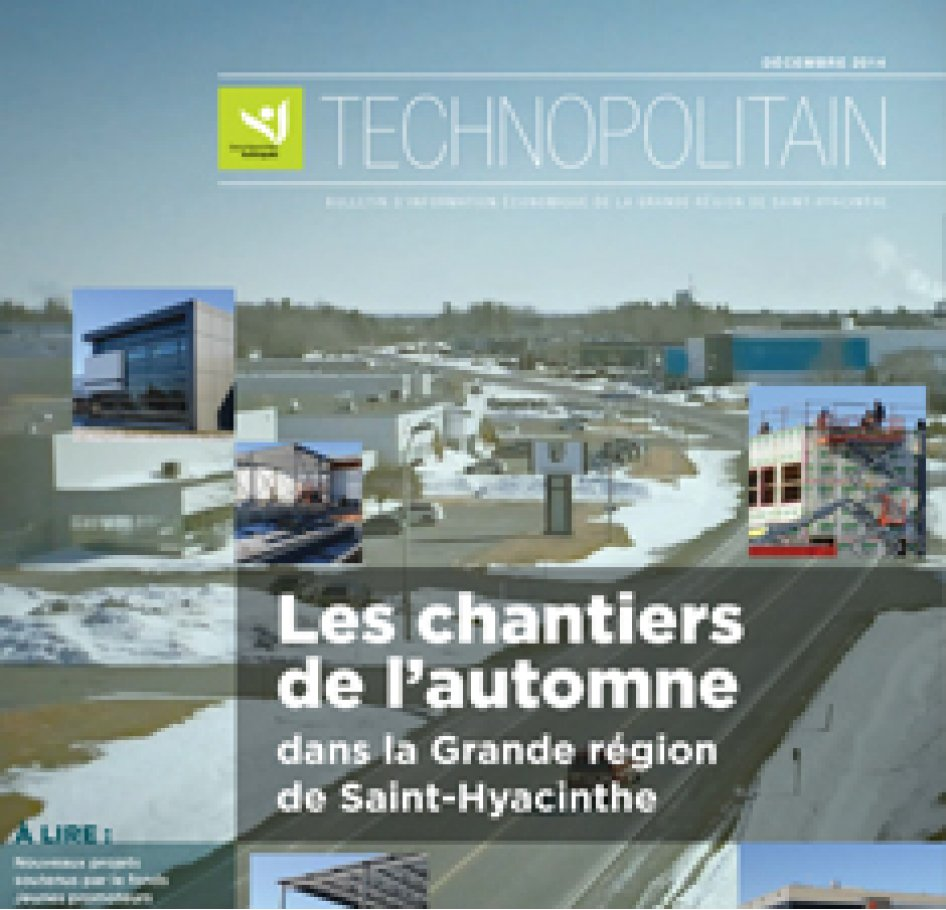 Le Technopolitain – Décembre 2014
