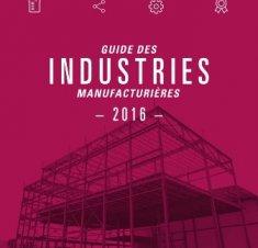 Guide des entreprises manufacturières de Saint-Hyacinthe 2016