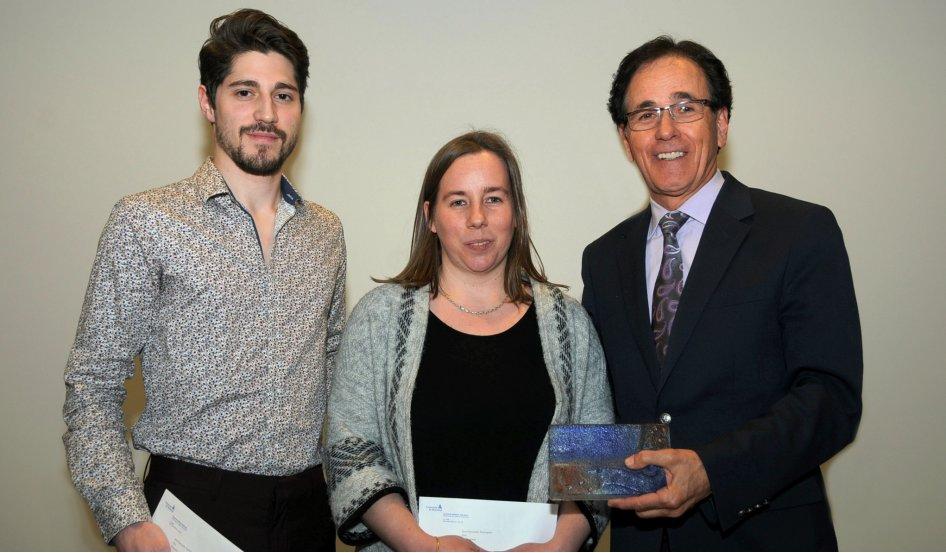 Deux étudiants de la Faculté de médecine vétérinaire de Saint-Hyacinthe reçoivent le prestigieux Prix de la Technopole