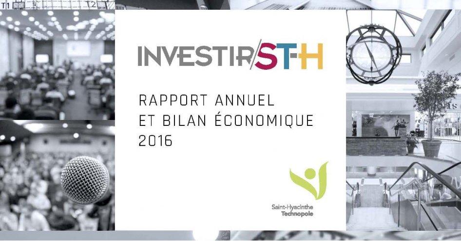 Saint-Hyacinthe Technopole est intervenue dans plus de 200 projets ou dossiers d'entreprises en 2016