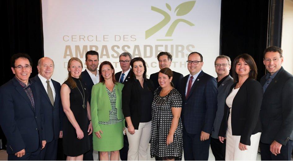 Saint-Hyacinthe Technopole lance le Cercle des ambassadeurs de Saint-Hyacinthe