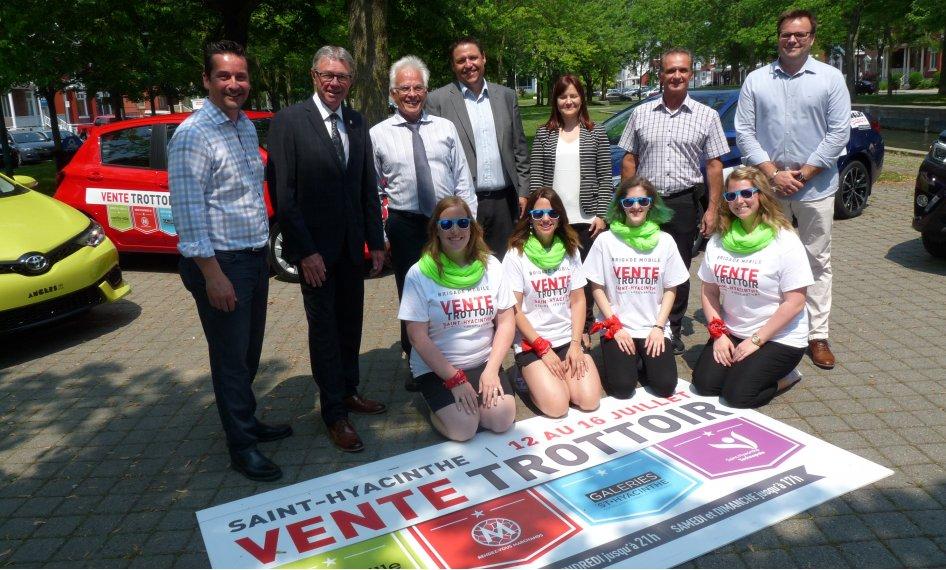 Le secteur commercial de Saint-Hyacinthe se démarque avec la plus grande vente trottoir au Québec