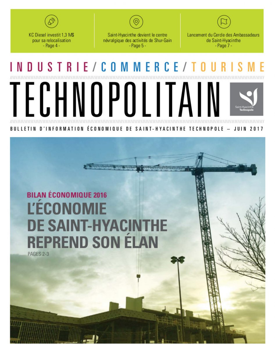 Le Technopolitain – Juin 2017