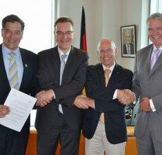 Saint-Hyacinthe choisie comme porte d'entrée canadienne pour les entreprises allemandes en biotechnologie