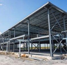 Le chantier des nouvelles installations de KC Diesel prend forme