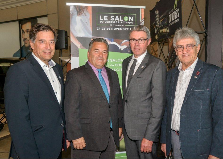 La communauté d'affaires souhaite faire de Saint-Hyacinthe un pôle québécois important en matière d'électrification des transports