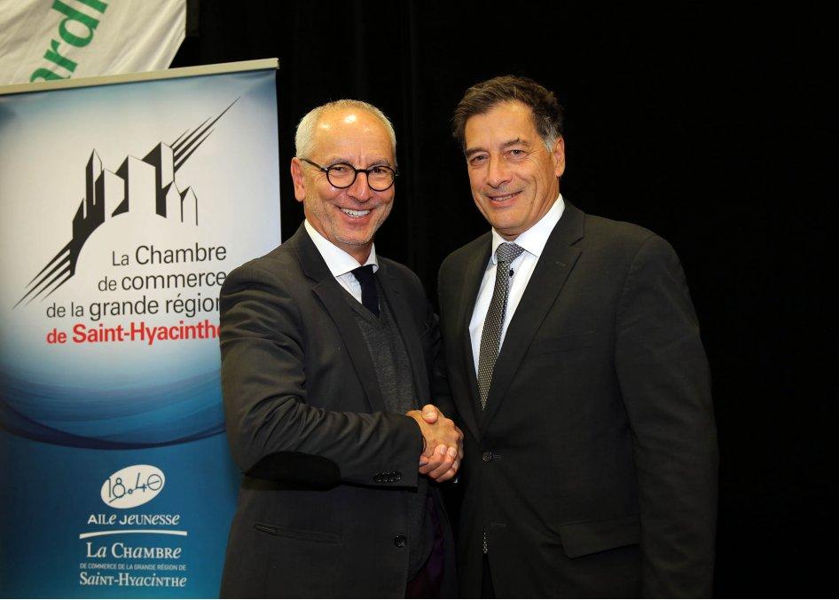 La Chambre de commerce et Saint-Hyacinthe Technopole s'unissent et recevront l'une des maîtres d'oeuvre de la stratégie d'électrification des transports