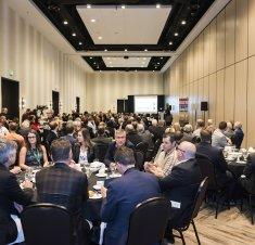 Plus de 200 participants au dîner de Saint-Hyacinthe Technopole et de la Chambre de commerce sur l'électrification des transports