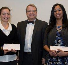 Saint-Hyacinthe Technopole décerne son Prix de la Technopole à deux étudiantes de la Faculté de médecine vétérinaire